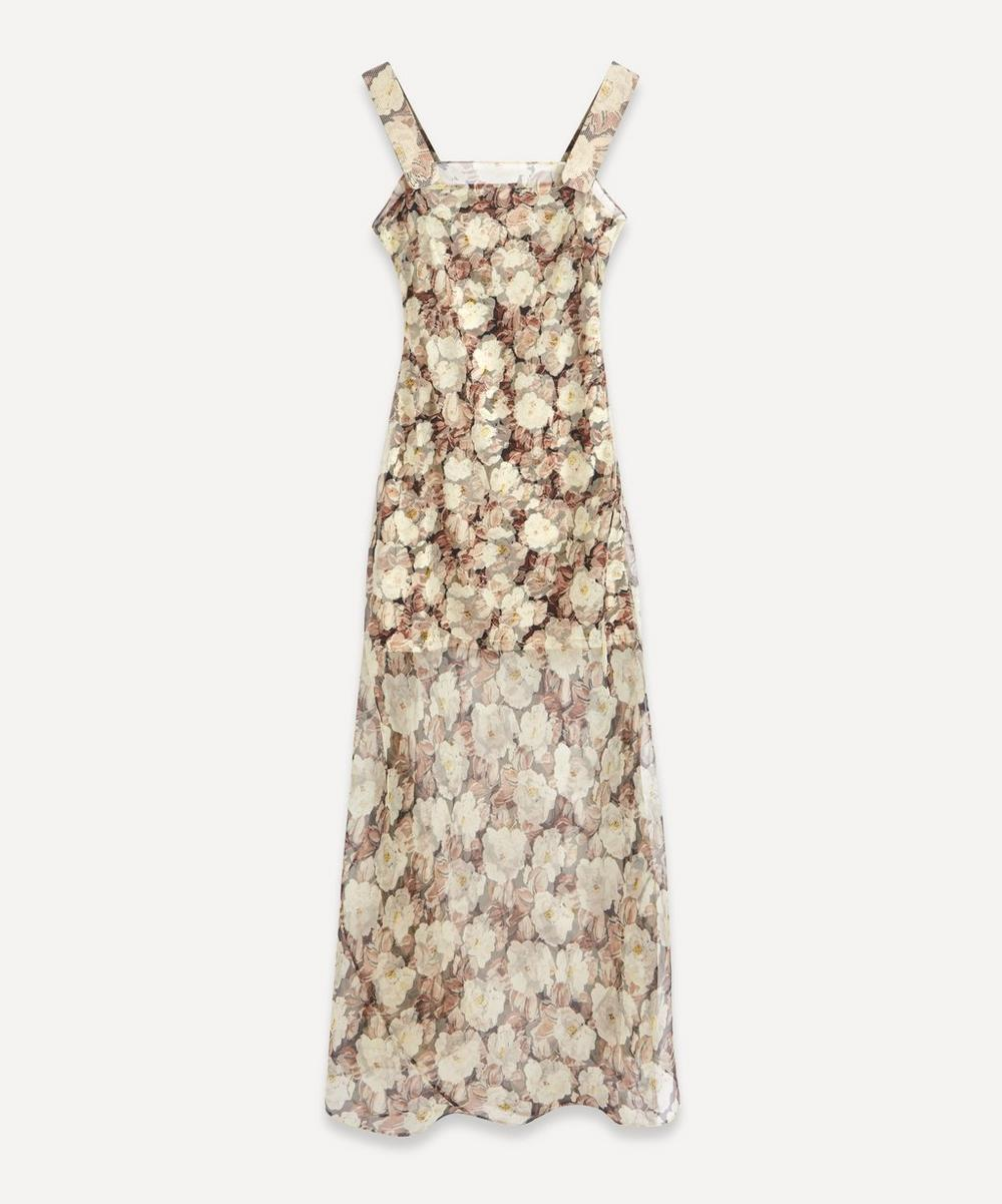 SIR - Sofia Silk Maxi-Dress