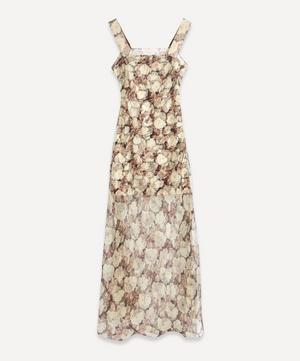 Sofia Silk Maxi-Dress