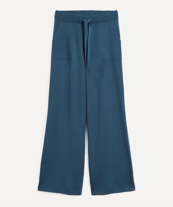 King & Tuckfield - Merino Wool Knit Trousers