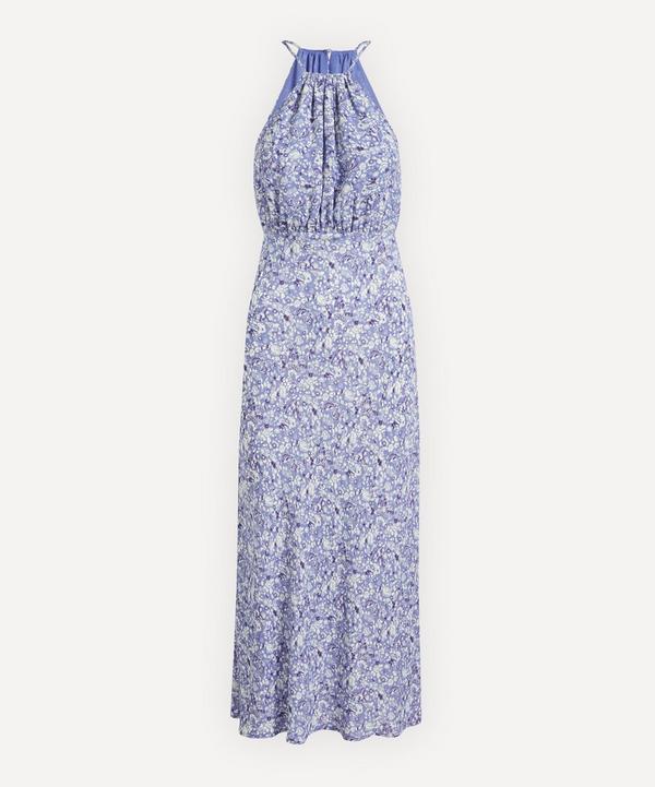 RIXO - Sydney Floral Halter-Dress