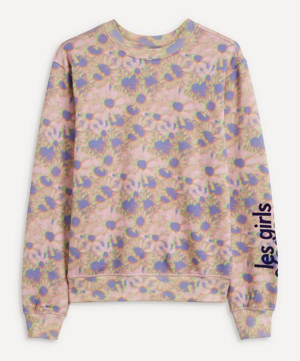 Les Girls Les Boys - Hazy Daisy Crew-Neck Sweatshirt