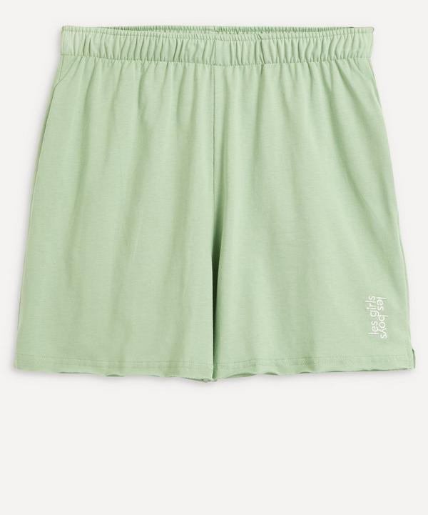 Les Girls Les Boys - Deconstructed Loose Shorts