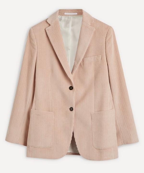 Officine Générale - Charlene Single-Breasted Cord Jacket