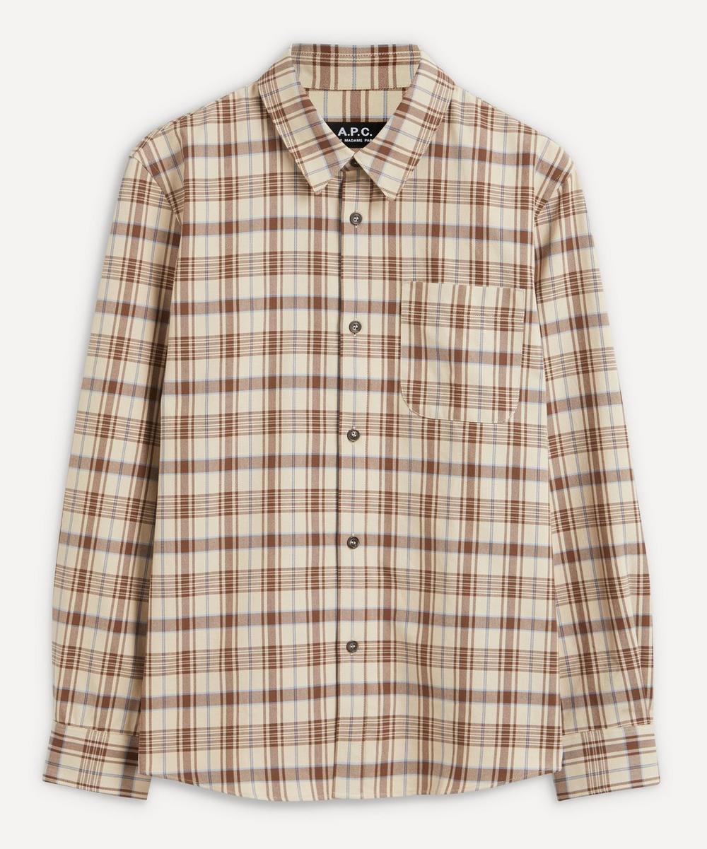 A.P.C. - Trek Check Cotton Shirt