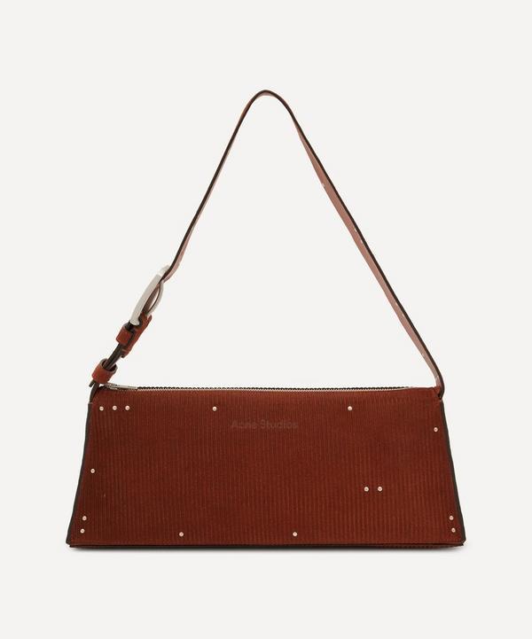 Acne Studios - Small Studded Suede Shoulder Bag