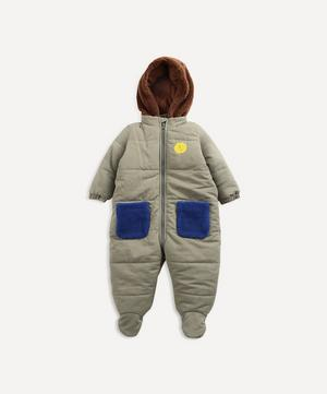 Padded Overalls 3-24 Months