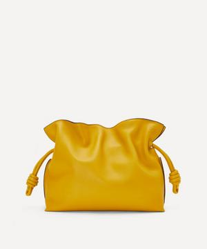 Flamenco Leather Clutch Bag
