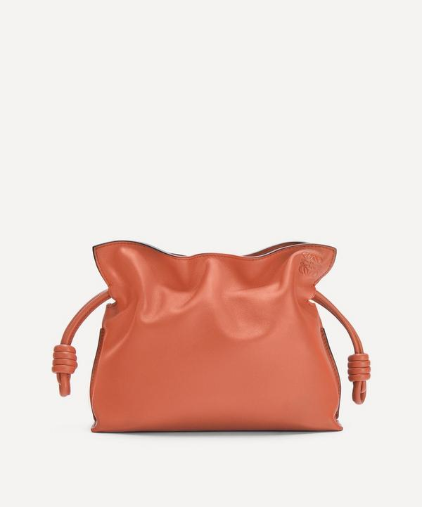 Loewe - Flamenco Leather Clutch Bag