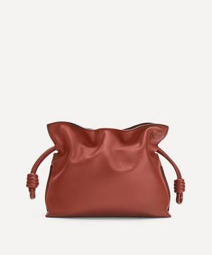 Mini Flamenco Leather Clutch Bag