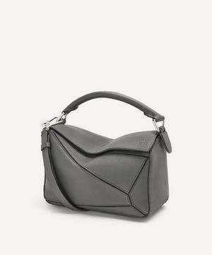 Small Puzzle Leather Shoulder Bag