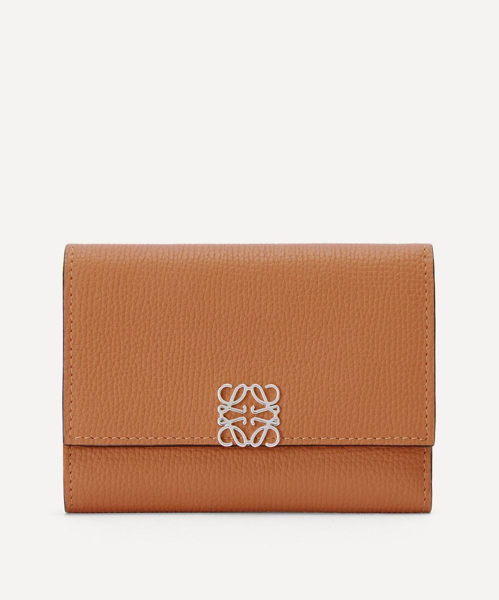 Loewe - Anagram Small Vertical Leather Wallet
