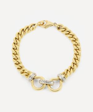 18ct Gold Diamond Chain Bracelet