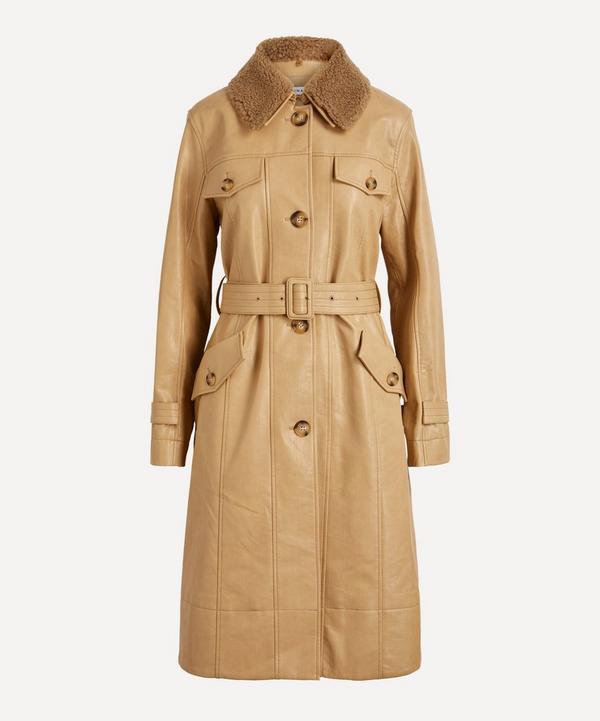 Rejina Pyo - Hana Faux Leather Coat