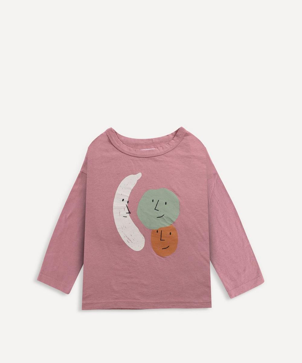 Bobo Choses - Faces Long Sleeve T-Shirt 2-8 Years