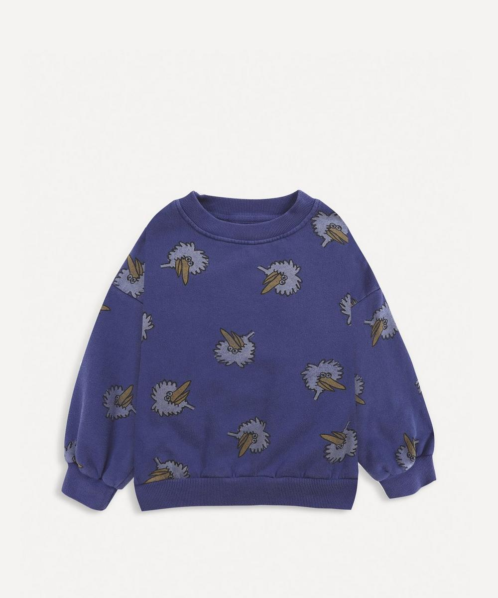 Bobo Choses - Bird All-Over Print Sweatshirt 2-8 Years