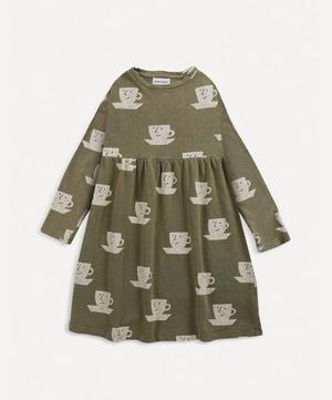 Teacup All-Over Print Midi Dress 2-8 Years