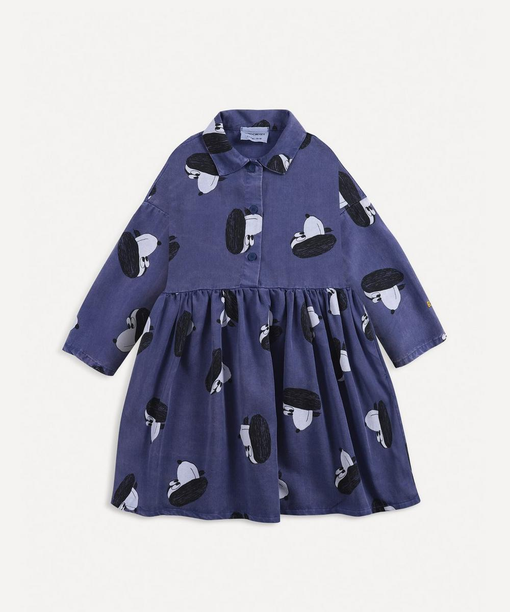 Bobo Choses - Dog Print Woven Dress 2-8 Years