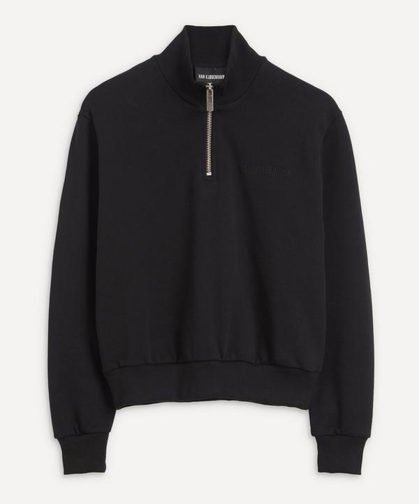Han Kjobenhavn - Half-Zip Logo Sweatshirt