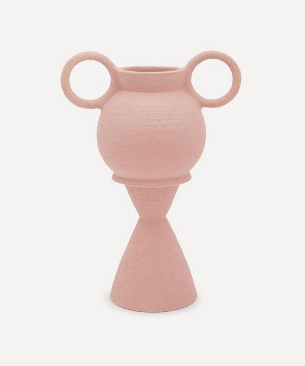 Mari Masot - Handcrafted Two-Part Ceramic Plant Pot