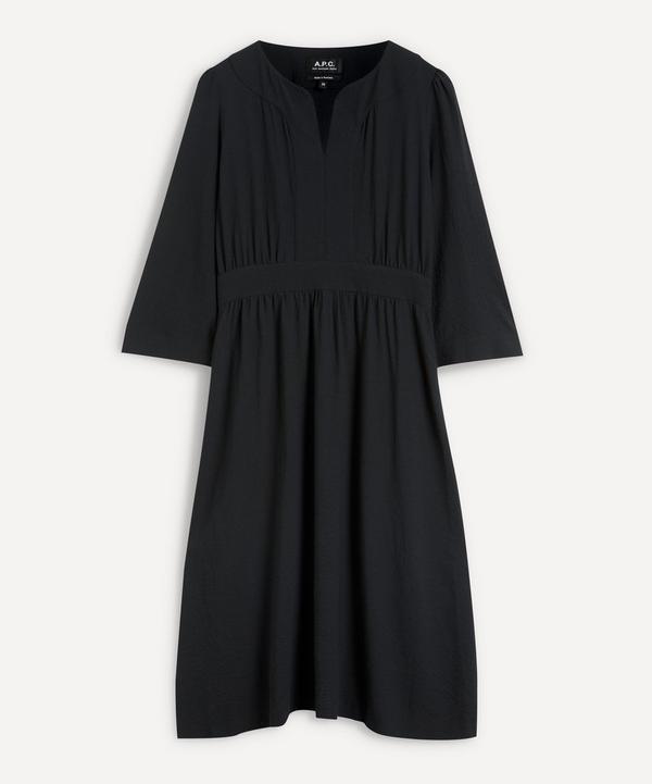 A.P.C. - Nellie Wool-Mix Crepe Midi-Dress