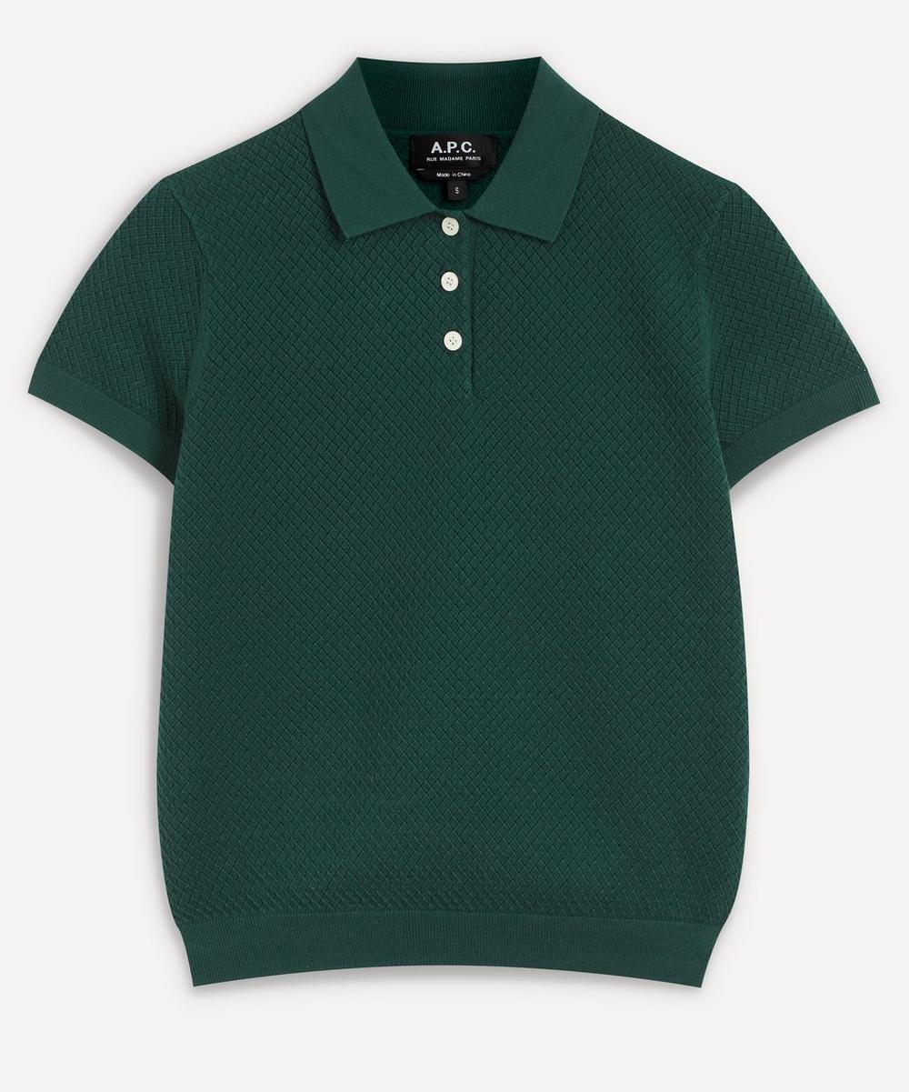 A.P.C. - Maria Knit Polo-Shirt