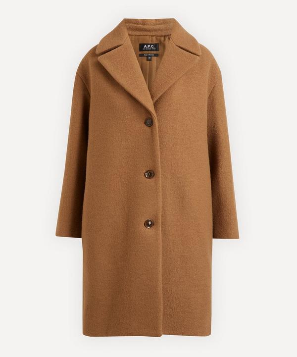 A.P.C. - Ninh Bouclé Llama Wool Overcoat