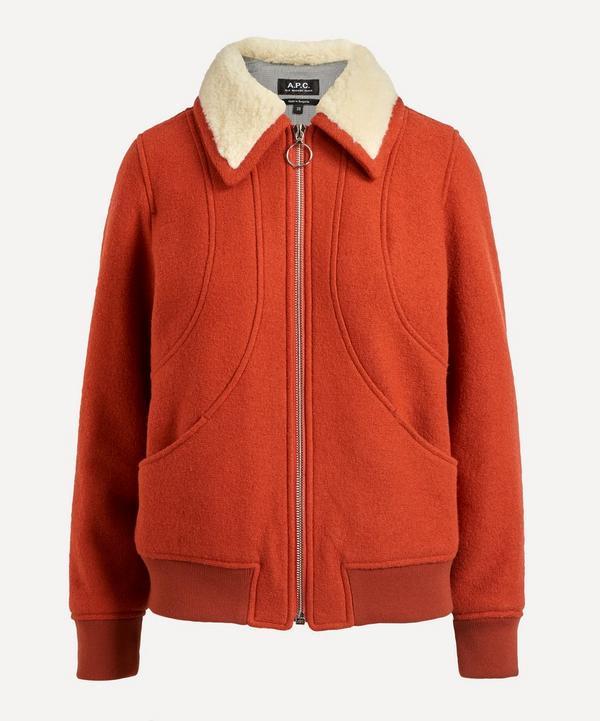 A.P.C. - Agathe Wool Bomber Jacket