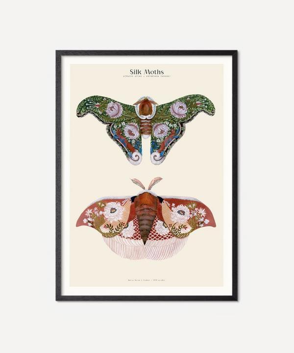 PSTR Studio - Unframed Silk Moths No.2 Print