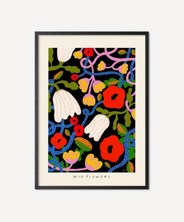 PSTR Studio - Unframed Wild Flowers Print
