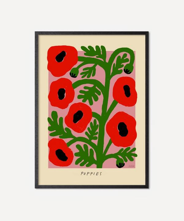 PSTR Studio - Unframed Poppies Print