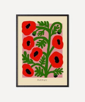 Unframed Poppies Print
