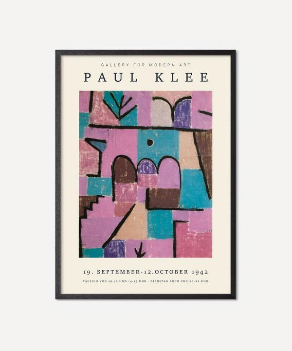 PSTR Studio - Unframed Paul Klee Tiles Of Colour Print