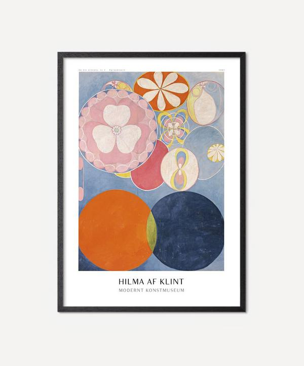 PSTR Studio - Unframed Hilma Af Klint Konstutställning Print