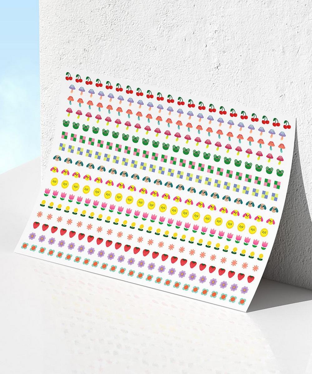 Kester Black - Staycation Nail Stickers