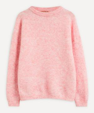 Dramatic Mohair-Mix Knit