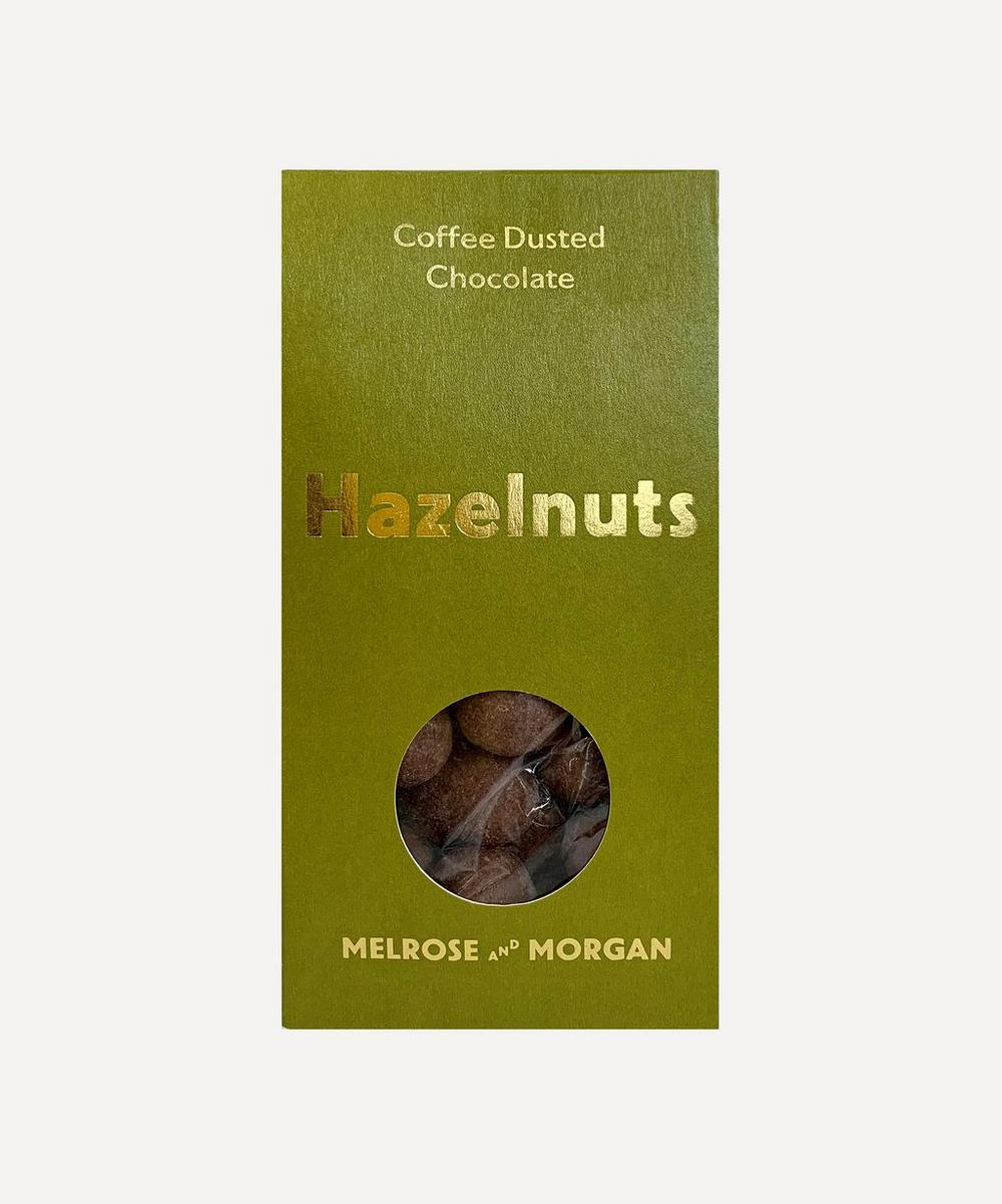 Melrose and Morgan - Coffee Dusted Milk Chocolate Hazelnuts 125g
