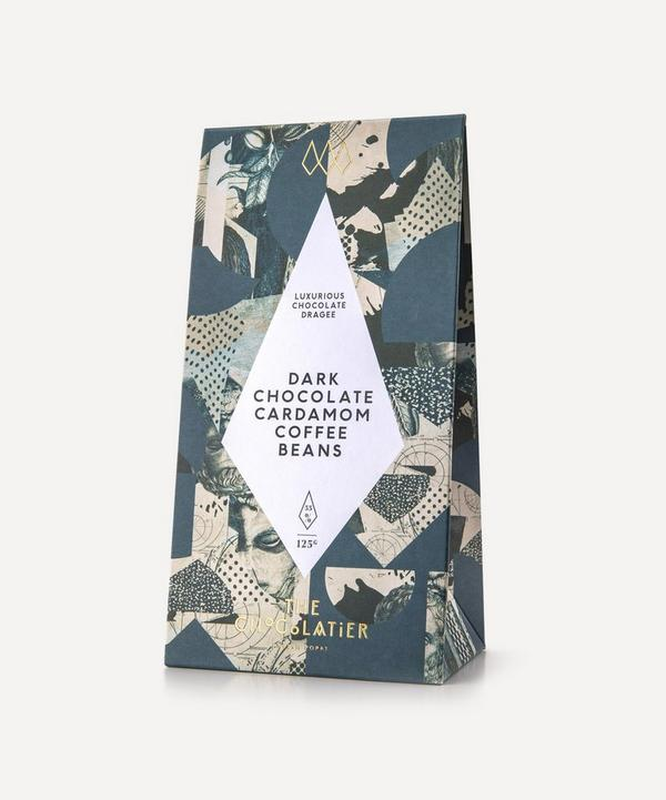 The Chocolatier - Dark Chocolate Cardamom Coffee Beans 125g