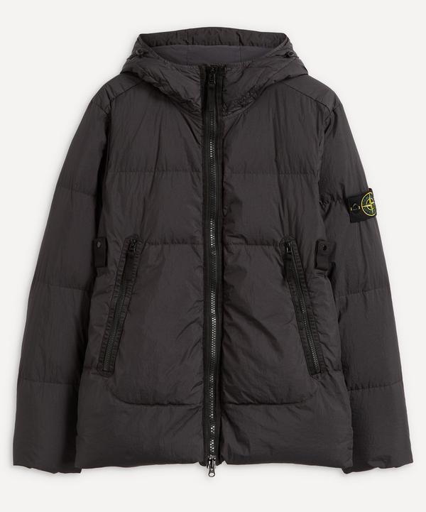 Stone Island - Crinkle Reps Down Hooded Jacket