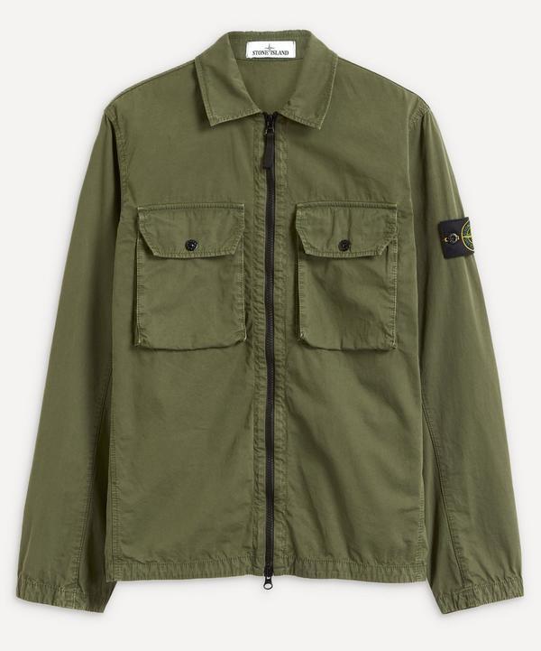 Stone Island - Patch Pocket Zip-Up Overshirt