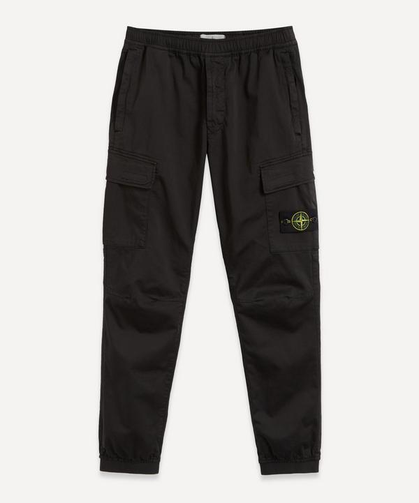 Stone Island - Elastic Waist Cargo Trousers