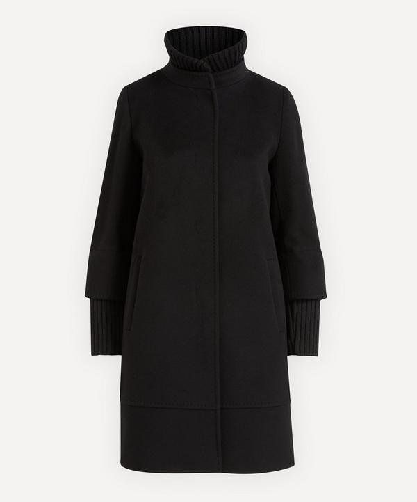 Cinzia Rocca - Knit Detail Wool Coat