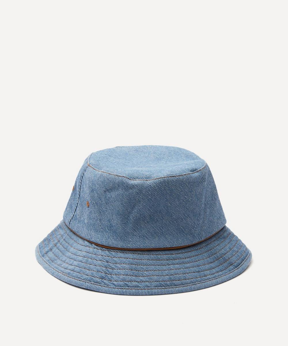 Acne Studios - Washed Denim Cotton Bucket Hat