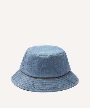 Washed Denim Cotton Bucket Hat