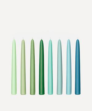 Botanical Taper Candles Set of Eight