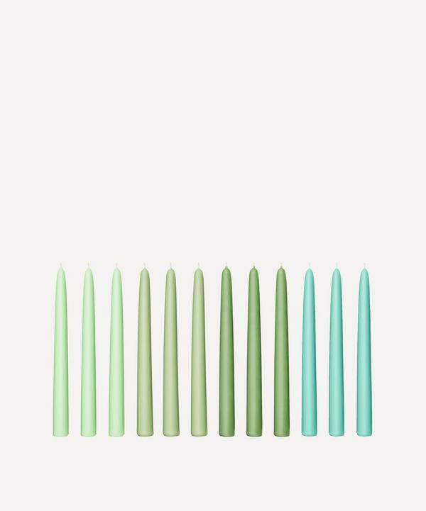 Fairholme Studio - Seaweed Taper Candles Set of 12