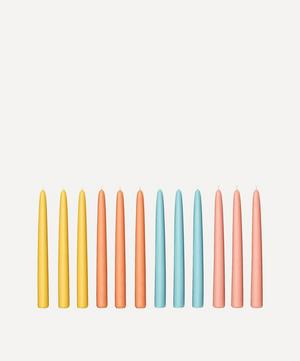 Golden Hour Taper Candles Set of 12