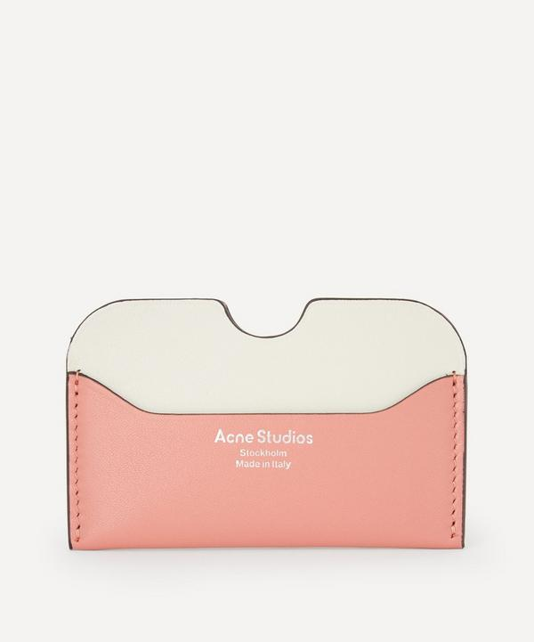 Acne Studios - Two-Tone Leather Card Holder