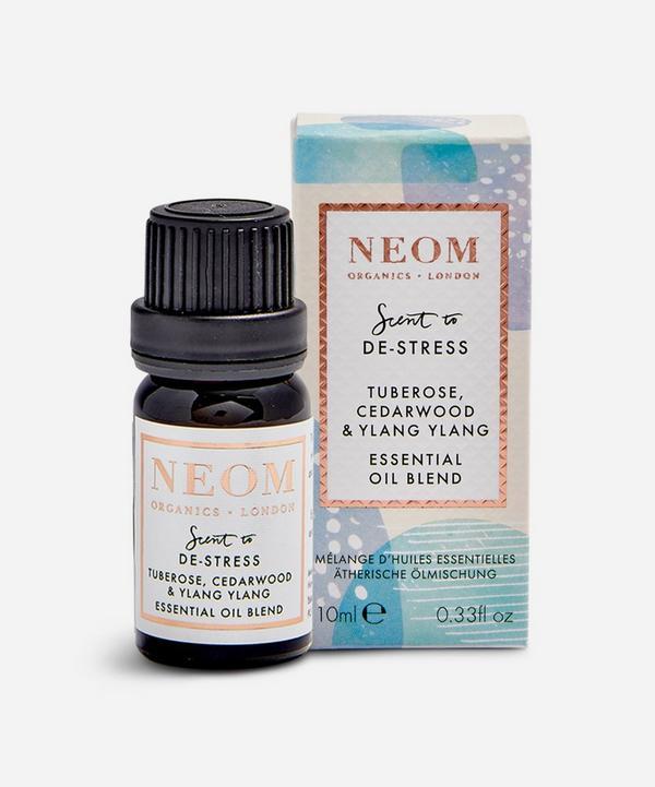 NEOM Organics - Scent to De-Stress Tuberose, Cedarwood & Ylang Ylang Essential Oil Blend 10ml