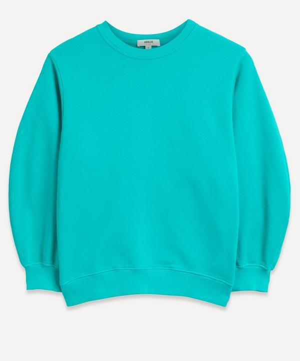 AGOLDE - Thora Balloon-Sleeve Sweatshirt
