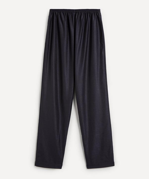 Eskandar - Slim Regular Trousers